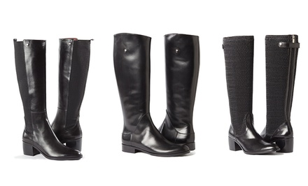 Women's Italian Leather Boots. Multiple Options Available from $249.99–$279.99.