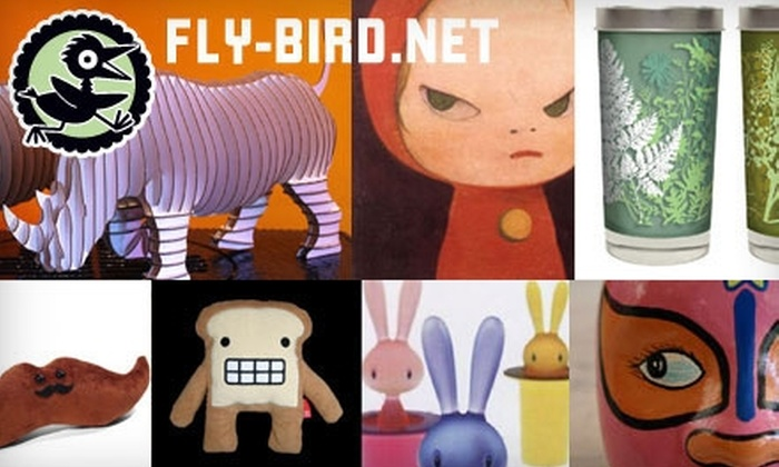 Fly Bird - Oak Park: $15 for $30 Worth of Creative and Sophisticated Apparel, Gifts, Paper Goods, and More at Fly Bird