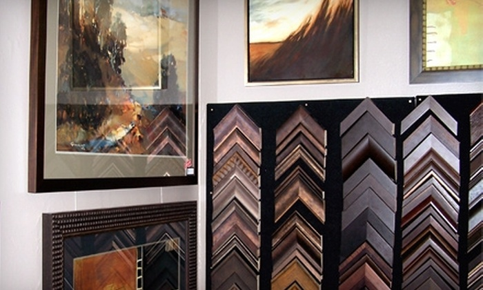 Blick Art Materials - Downtown: $50 for $100 Toward a Complete Framing Job at Blick Art Materials