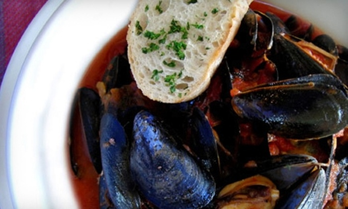 Violette - Woodstock: $20 for $40 Worth of French Cuisine and Drinks at Violette in Woodstock
