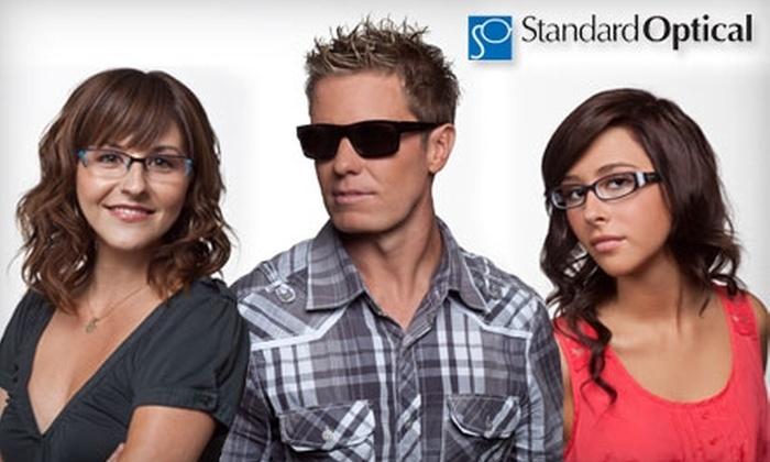 Standard Optical - Salt Lake City: $50 for $180 Worth of Frames and Lenses at Standard Optical
