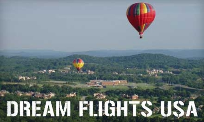 Dream Flights USA - Birmingham: $140 for a Hot-Air Balloon Ride from Dream Flights USA