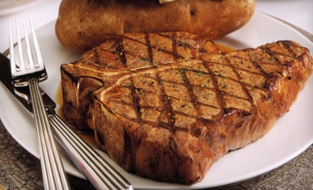 Dinner for 2 (up to a $44.85 value), Including 1 Appetizer (up to a $6.95 value), 2 Entrees (up to $14.95 value each), & 2 Glasses of House Wine (a $4 value each) - Lakeview Bar and Grill in Novi