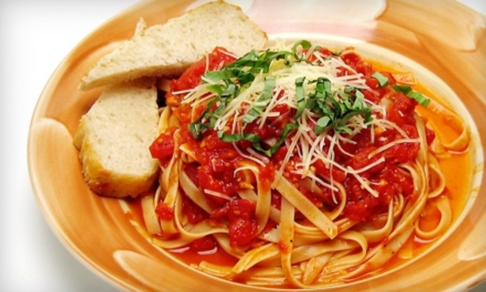 3 Tomatoes & a Mozzarella - Las Vegas: $10 for $20 Worth of Italian Fare and Drinks at 3 Tomatoes & a Mozzarella