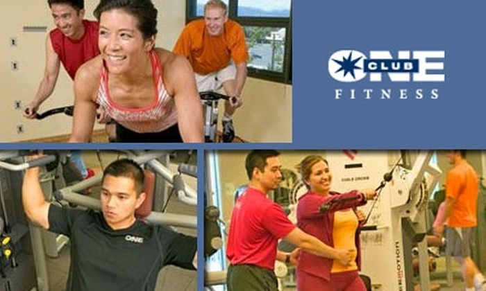 Club One Fitness - San Jose: $35 for One-Month Membership and a Healthy Age Screening at Club One Fitness