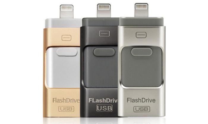 SaleSation - powered by Domexx UG: Externer 3-in1-Flash-Speicher OTG inkl. Versand (bis zu 75% sparen*)