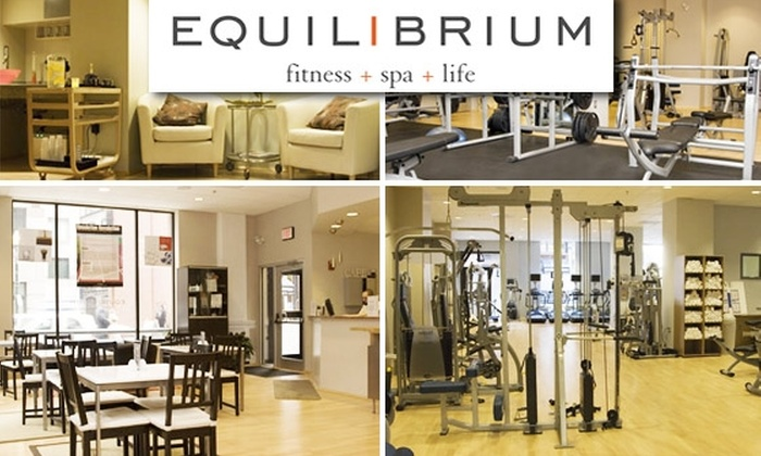 Equilibrium Fitness Spa - Boston: 29-Day Punchcard to Equilibrium and Atlantis Sports Clubs for $29 (Full-Membership Fees Waived)