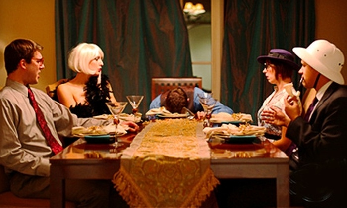 The Murder Mystery Company - Lyons Park: $29 for Admission to a Murder-Mystery Dinner Show by The Murder Mystery Company at A.S.M. Banquet Center ($60 Value)