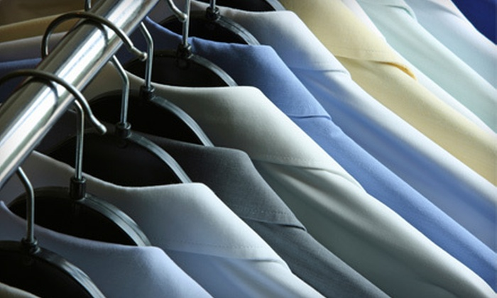 Dry Clean Safari - San Buenaventura (Ventura): Dry-Cleaning Services or Dry Cleaning for Comforter from Dry Clean Safari (Up to 53% Off). Three Options Available.