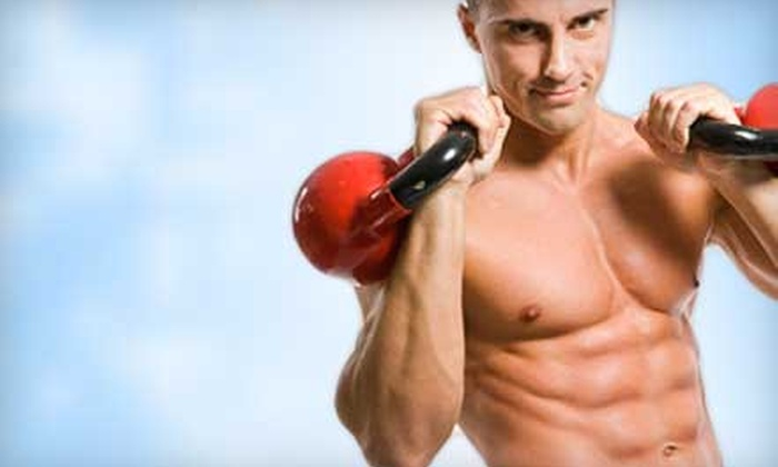 Make It Happen - Downtown: Five Kettlebell Classes or One-Month Unlimited Classes at Make It Happen