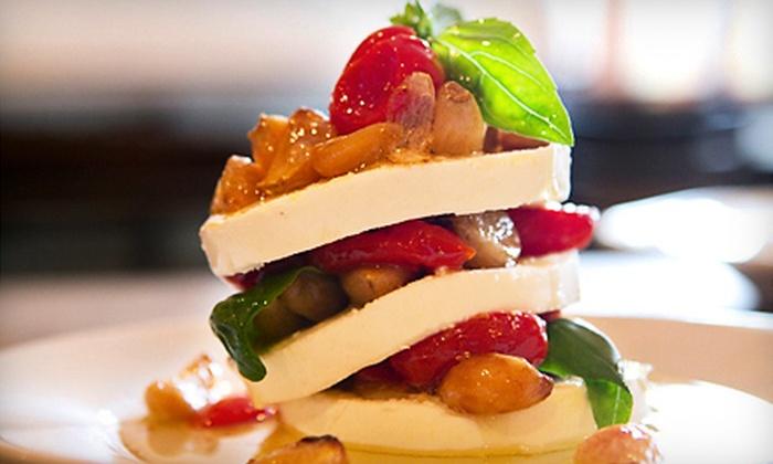 Aglia Ristorante - Bellingham : Five-Course Italian Dinner for Two or Four at Aglia Ristorante in Bellingham (Up to 55% Off)