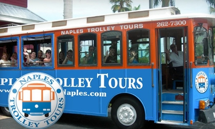 Naples Trolley Tours - Old Naples: $12 for One Two-Hour Trolley-Tour Ticket with Naples Trolley Tours