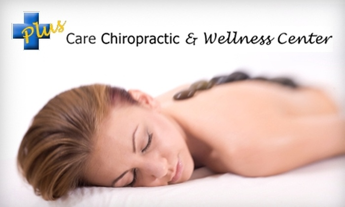 Plus Care Chiropractic & Wellness Center - Jeffersonville: $37 for a 60-Minute Massage, an Ionic Footbath, and More at Plus Care Chiropractic & Wellness Center