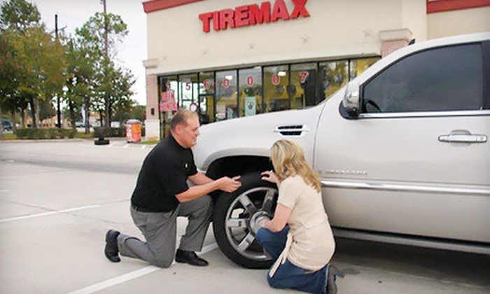 TIREMAX of North America - Multiple Locations: $30 for $100 Toward Tires, Wheels, and Installation at TIREMAX of North America