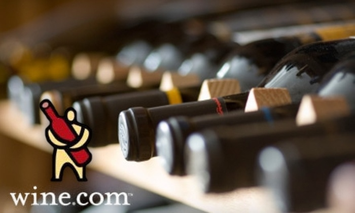 Wine.com: $30 for $60 Worth of Select Wines from Wine.com