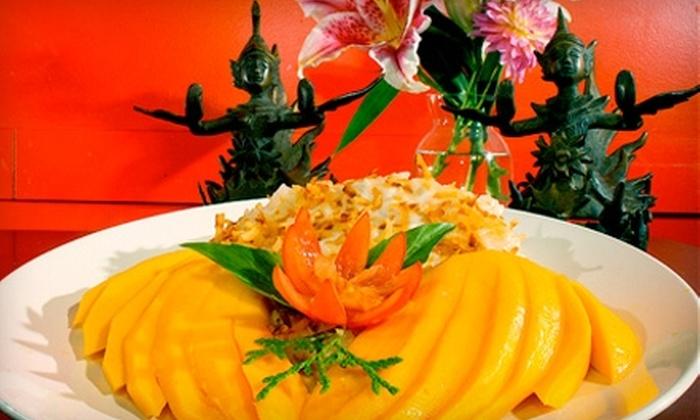 Peemkaew - Chinatown,Pearl: $10 for $20 Worth of Thai Cuisine and Drinks at Peemkaew