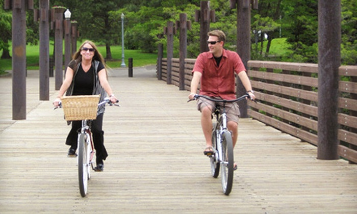 Fun Unlimited - Coeur d'Alene: Half- or Full-Day Bike Rentals for One, Two, or Four from Fun Unlimited in Coeur d'Alene (Up to 57% Off)
