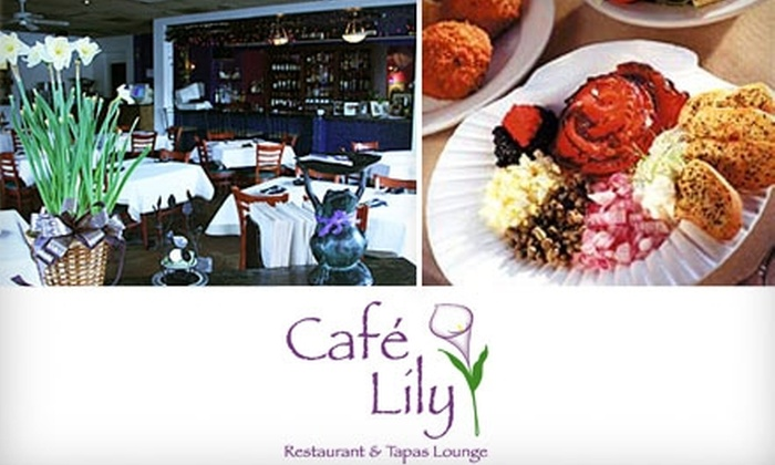 Café Lily - Decatur: $20 for $40 Worth of Dinner at Café Lily in Decatur (or $10 for $20 Worth of Lunch or Brunch)
