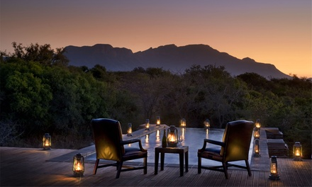 South Africa: 5 or 7 Nights with Transfers, Meals and Activities at the Vuyani Safari Lodge*