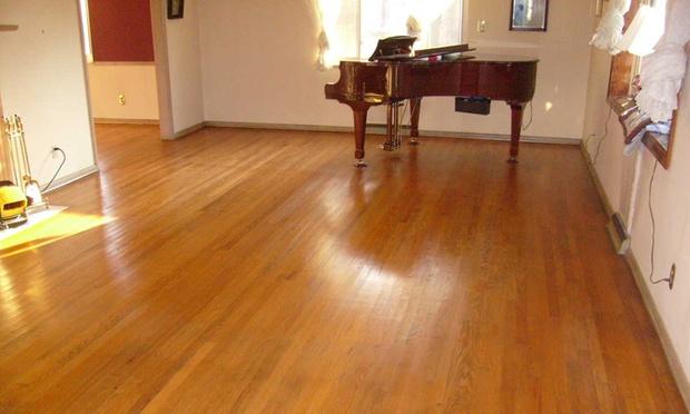 1 Day No Sanding Wood Floor Refinishing