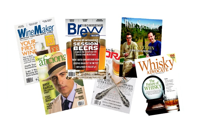 Beer, Wine, Whisky, and Cigar Magazines - Up to 75% Off