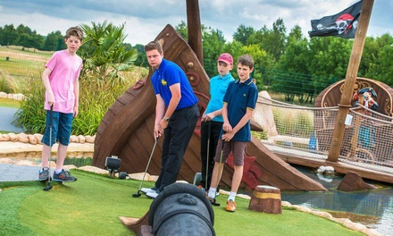 Adventure Crazy Golf for Up to Four at Pirate Island Adventure Golf at Ramsdale Park Golf Centre (Up to 50% Off)