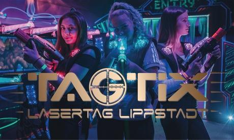 3 Laser-Tag-Spiele inkl. Ausrüstung und Getränk für 1 bis 5 Personen bei TAGTIX LASERTAG LIPPSTADT