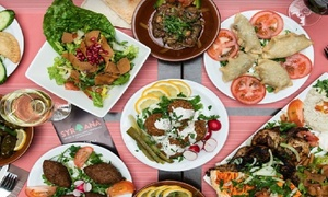 Syriana: Savoureux menu mezze Libano-Syrien pour 2 ou 4 personnes dès 24.99€ au restaurant Syriana