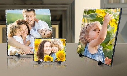 Custom Stone Slate Photo Prints from $5–$59 from PrinterPix
