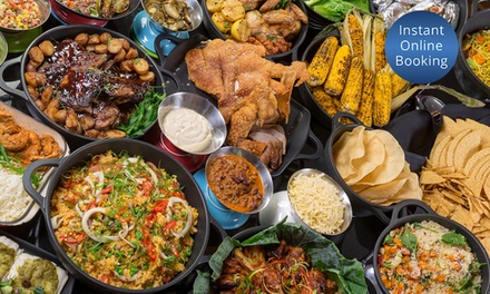 Food Adventure Dinner Buffet for 1 ($25) or 4 People ($98) at Four Points By Sheraton Brisbane Dining (Up to $260 Value)