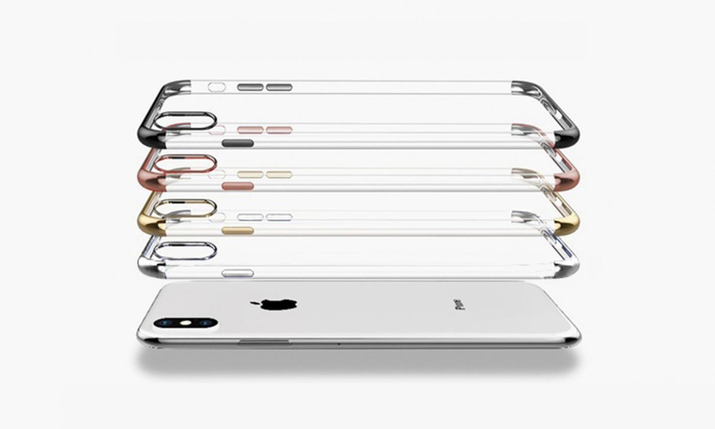 One or Two TPU Trim Cases for iPhone