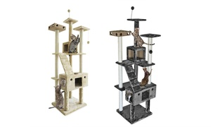 Tiger Tough Double Decker Playground Cat Tree