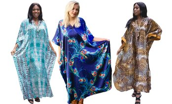 Women's Caftan Maxi Dress