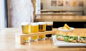 Barcelona Beer Company: Degustación de cervezas artesanales para 2 personas con opción a menú desde 9,95 € en Barcelona Beer Company