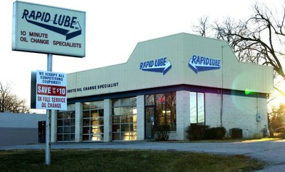 Semi-Synthetic or Synthetic Oil Change at Rapid Lube (Up to 46% Off)