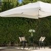 Branton Outdoor 9.8ft. Beige Canopy Umbrella with Base