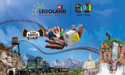 Familien Tagesticket für 3, 4 oder 5 Personen für die Saison 2018 im LEGOLAND® Billund Resort (bis zu 49% sparen*)