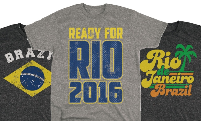 Men's USA and Rio Tri-Blend Tees