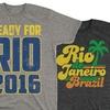 Men's USA and Rio Tri-Blend Tees