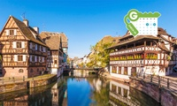Strasbourg : Chambre double Supérieure pour 2 personnes avec petit-déjeuner au Lodge Brit Hotel Strasbourg Zenith