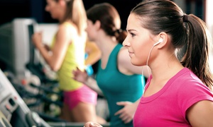 Anytime Fitness Roselle: 2-Month Membership with Optional Personal Training, Fitness Classes, or Both at Anytime Fitness Roselle (Up to 77% Off)