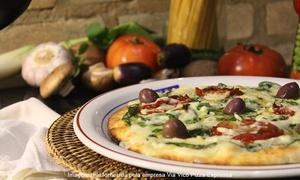 Via Vico Pizza Expressa: Via Vico Pizza Expressa – Sousas: jantar com entrada, pizza e sobremesa para 2 ou 4 pessoas