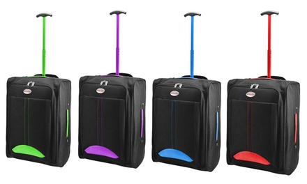 Wheeled Cabin-Size Trolley Bag from £9.95 (Up to 64% Off)