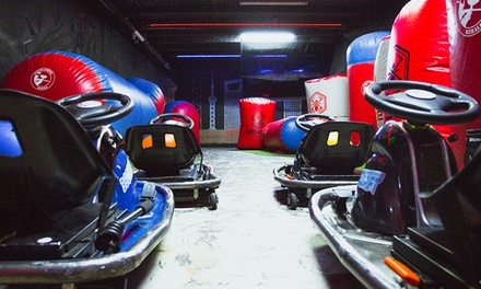 Drift Karting Session for One ($39) or Two People ($78) at Thrill Zone (Up to $108 Value)