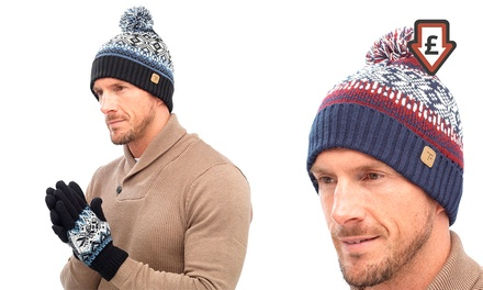 One £3 or Two £5 Men's Hat and Gloves Sets