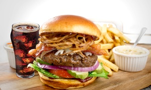 Applebee's: Burger with Chips and Drinks for Up to Six at Applebee's, Multiple Locations (42% Off)