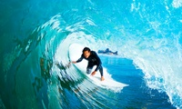 $39 for Two-Hour Surf Lesson with Board Hire with Cheyne Horan School of Surf, Surfers Paradise (Up to $69 Value)