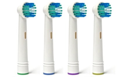Pack de 4, 8, 12 o 16 cabezales de cepillo de dientes compatibles con Oral B desde 2,90 €