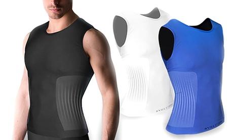 1, 2 o 3 camisetas moldeadoras para hombre de triple acción