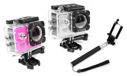 1080p HD Waterproof Action Camera
